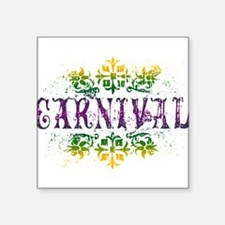 """carnival.png Square Sticker 3"""" x 3"""""""