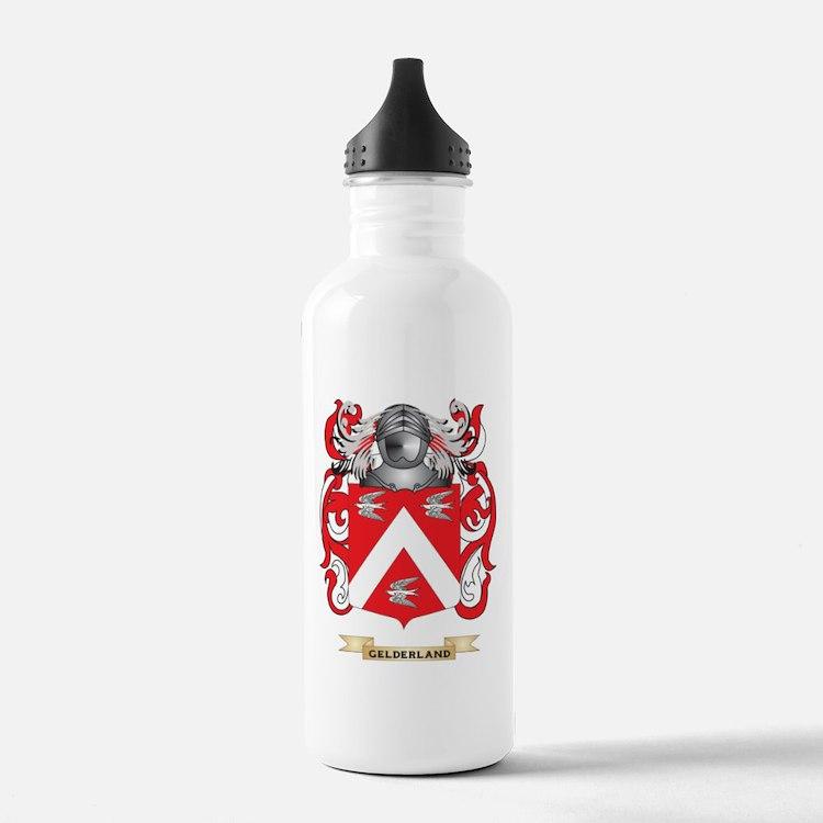 Gelderland Coat of Arms (Family Crest) Water Bottl