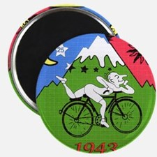 Bicycle Day Magnet