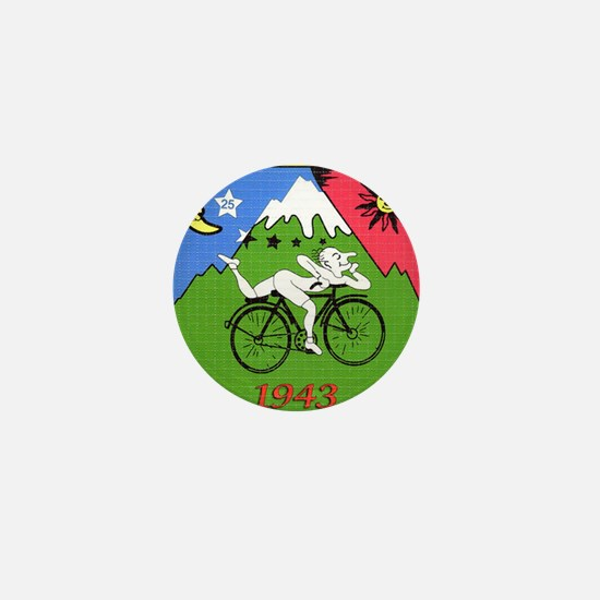 Bicycle Day Mini Button