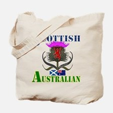 Scottish Australian Thistle Tote Bag
