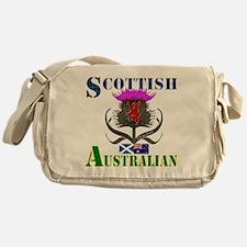 Scottish Australian Thistle Messenger Bag