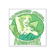 "wicked-girl_new.png Square Sticker 3"" x 3"""