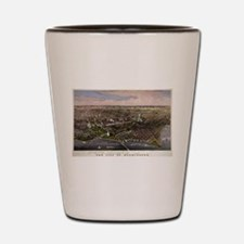 The City of Washington - 1880 Shot Glass