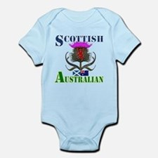 Scottish Australian Thistle Infant Bodysuit