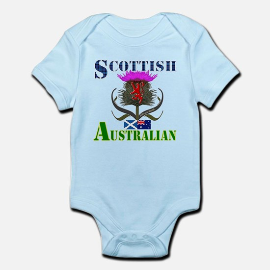 Scottish Australian Thistle Infant Bodysuit