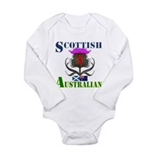 Scottish Australian Th Long Sleeve Infant Bodysuit