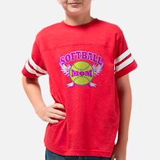 softball mom Youth Football Shirt