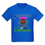 Scottish australian Kids T-shirts (Dark)