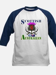 Scottish Australian Thistle Kids Baseball Jersey