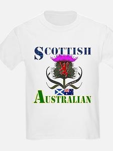 Scottish Australian Thistle T-Shirt