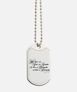 dream-within-a dream_bl.png Dog Tags
