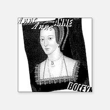 "anne-boleyn_pk.png Square Sticker 3"" x 3"""