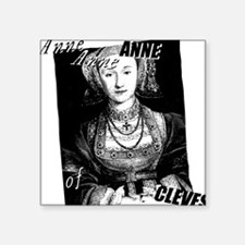 """anne-cleves_pk.png Square Sticker 3"""" x 3"""""""