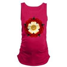 tudor-rose2.png Maternity Tank Top