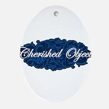 Cherished Object Ornament (Oval)