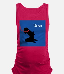 iServe-2.png Maternity Tank Top