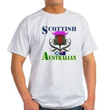 Scottish Australian Thistle T-Shirt