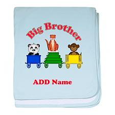 Big Brother Zoo baby blanket