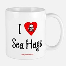 I (heart) Sea Hags Large Mugs
