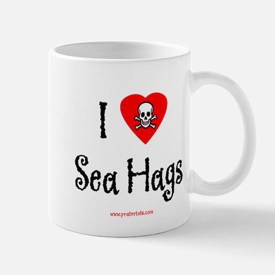 I (heart) Sea Hags Large Mugs