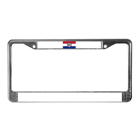 Missouri Flag License Plate Frame