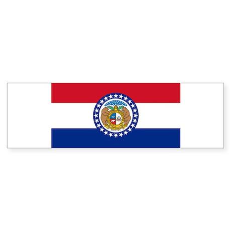 Missouri Flag Bumper Sticker