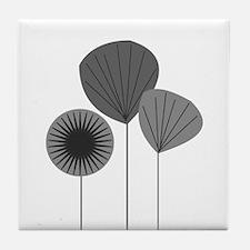 Mid Century Modern Tile Coaster