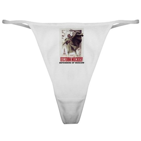 DEFENDERS OF MOSCOW Classic Thong