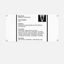 Lacrosse Midde Definition Banner