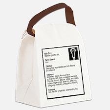Lacrosse Midde Definition Canvas Lunch Bag