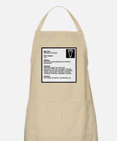 Lacrosse Midde Definition Apron