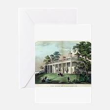 The home of Washington, Mount Vernon, VA - 1872 Gr