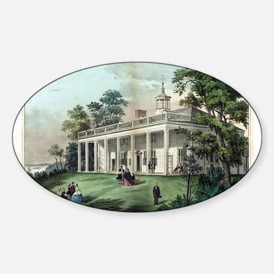 The home of Washington, Mount Vernon, VA - 1872 St