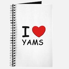 I love yams Journal