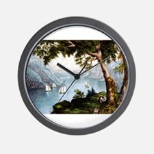 The Hudson highlands - 1871 Wall Clock