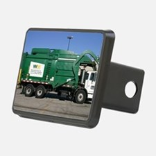 garbage truck love Hitch Cover