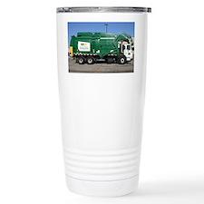 garbage truck love Ceramic Travel Mug