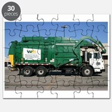 garbage truck love Puzzle