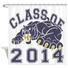 Class Of 2014 Saber-Tooth Tiger Shower Curtain