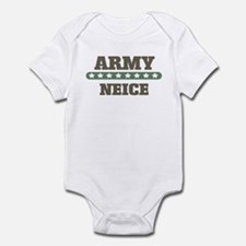 Army Stars Neice Infant Bodysuit