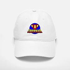 UberMan Baseball Baseball Cap