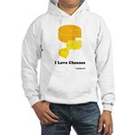 I Love Cheeses Hooded Sweatshirt