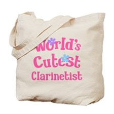 Worlds Cutest Clarinetist Tote Bag
