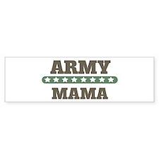 Army Stars Mama Bumper Bumper Sticker