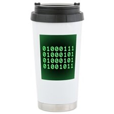 Binary code for GEEK Travel Mug