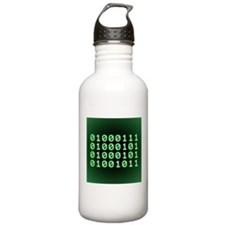 Binary code for GEEK Water Bottle