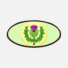Heraldic Thistle Patches