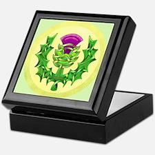 Heraldic Thistle Keepsake Box