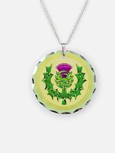 Heraldic Thistle Necklace